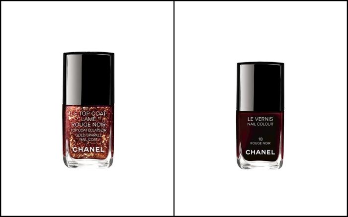 Chanel, Chanelin kynsilakka, trendilakkaus, trendimanikyyri, Rouge Noir, hyvä kynsilakka