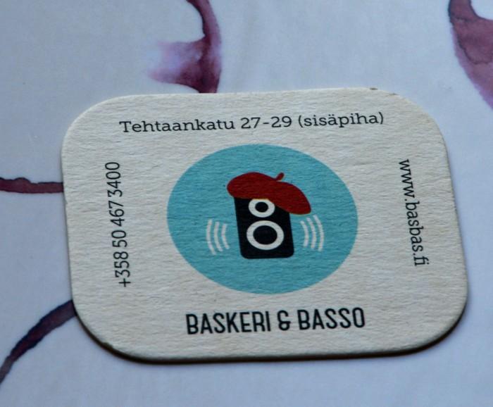 BasBas, Baskeri&Basso, hyvä ravintola Helsingissä, bistro, good restaurant in Helsinki, Helsingin ravintolat, ravintola-arvostelu, where to eat in Helsinki