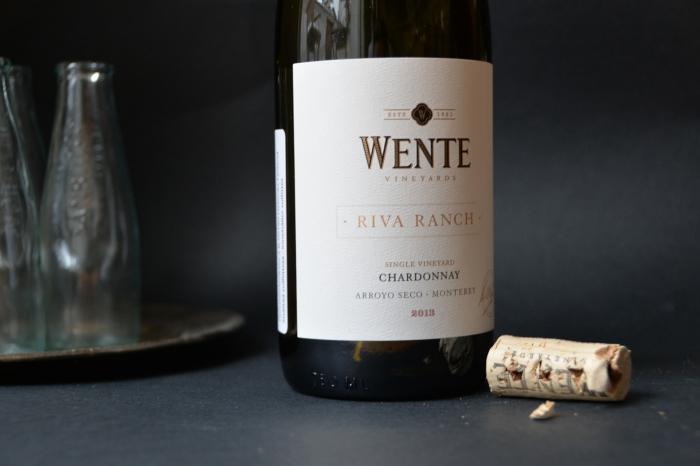 viini aasialaiselle ruoalle, kalatacot, Wente Riva Ranch Chardonnay, hyvä valkoviini, valkoviini tuliselle ruoalle