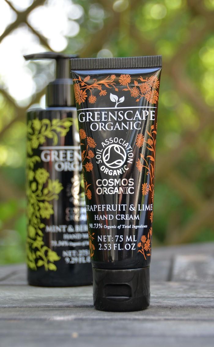 X Greenscape Organics, luomukosmetiikka, luomukäsivoide, luomukuorinta, COSMOS, luomutuotteet ihonhoitoon