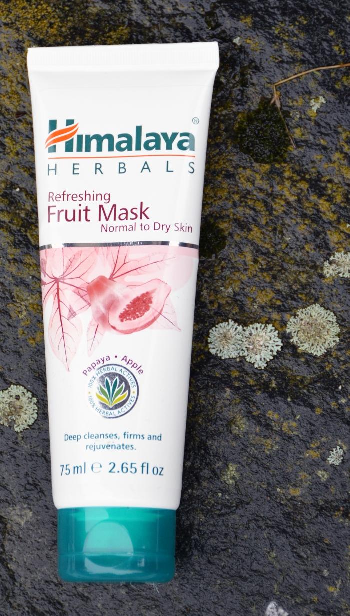 Himalaya Herbals, Himalaya Herbals Refreshing Fruit Mask, kuivan ihon syväpuhdistus, syväpuhdistava naamio, t-alueen ihonpuhdistus, vaihtoehto kuorintavoiteelle