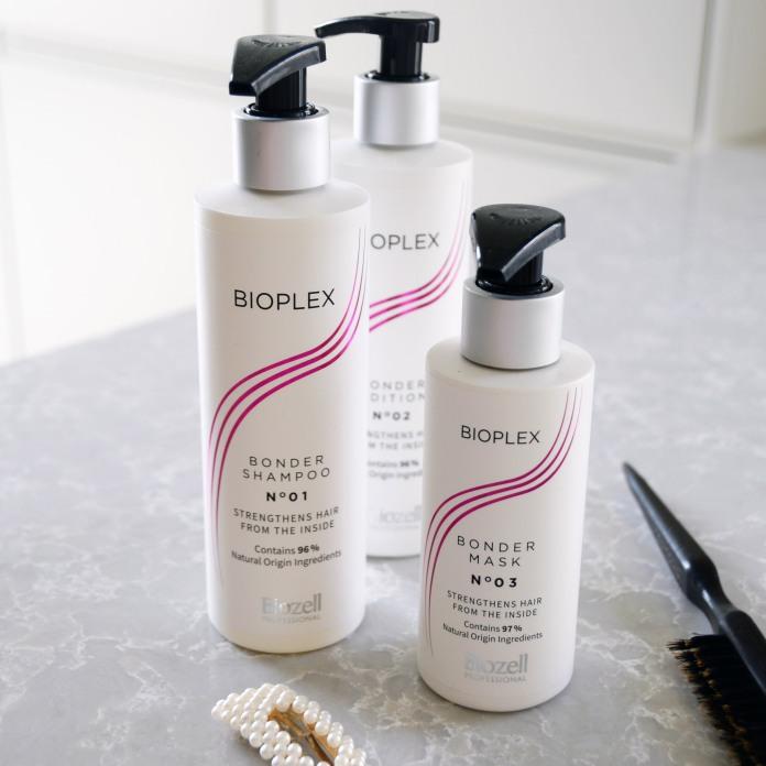 Vahvista hiuksia kotimaisella Bioplex-sarjalla.
